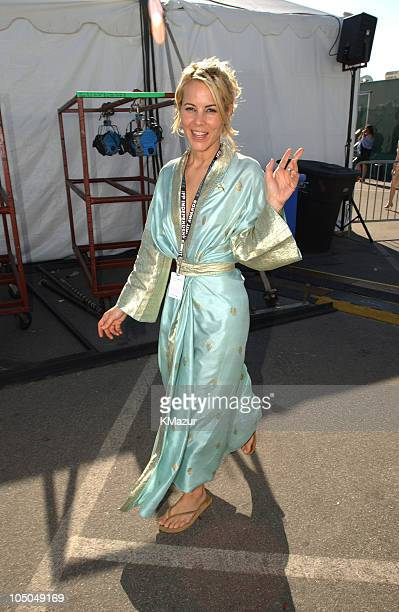Maria Bello during The 18th Annual IFP Independent Spirit Awards Backstage at Santa Monica Beach in Santa Monica California United States