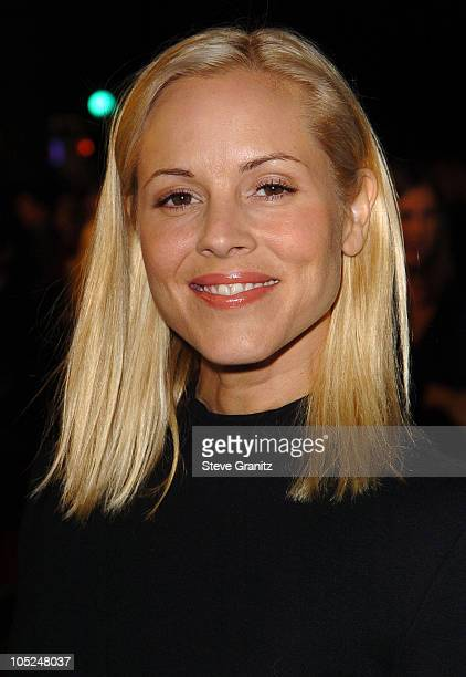 Maria Bello during 'The Lord Of The RingsThe Return Of The King' Los Angeles Premiere at Mann Village Theatre in Westwood California United States