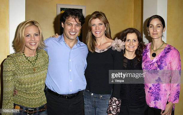 Maria Bello Frederic Fekkai Julie Moran Brenda Battista and CarrieAnne Moss