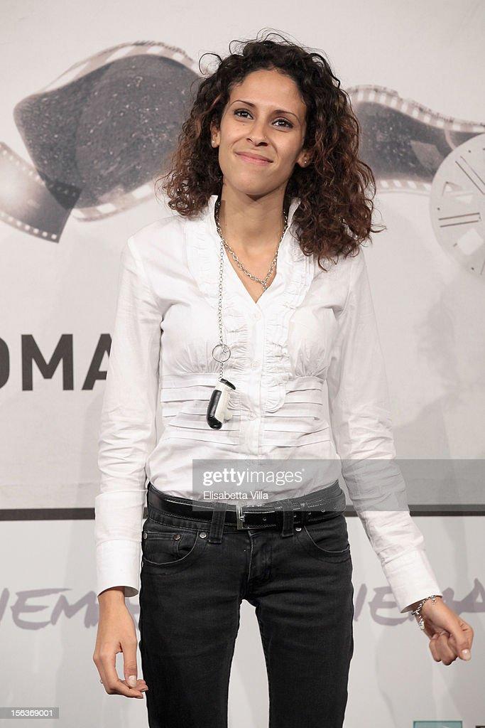 Maria Benkhalouk attends the 'Acqua Fuori Dal Ring/La Prima Legge Di Newton' Photocall during the 7th Rome Film Festival at the Auditorium Parco Della Musica on November 14, 2012 in Rome, Italy.