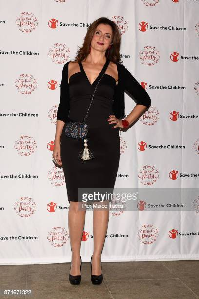 Maria Bolignano attends Save The Children Charity Party on November 15 2017 in Milan Italy
