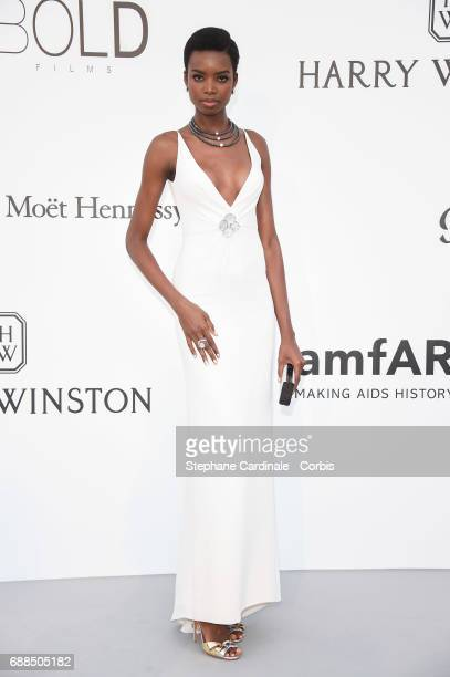 Maria Borges arrives at the amfAR Gala Cannes 2017 at Hotel du CapEdenRoc on May 25 2017 in Cap d'Antibes France