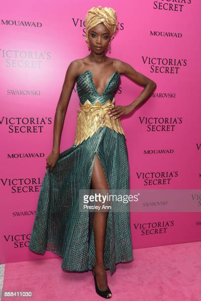 Maria Borges attends 2017 Victoria's Secret Fashion Show In Shanghai After Party at MercedesBenz Arena on November 20 2017 in Shanghai China