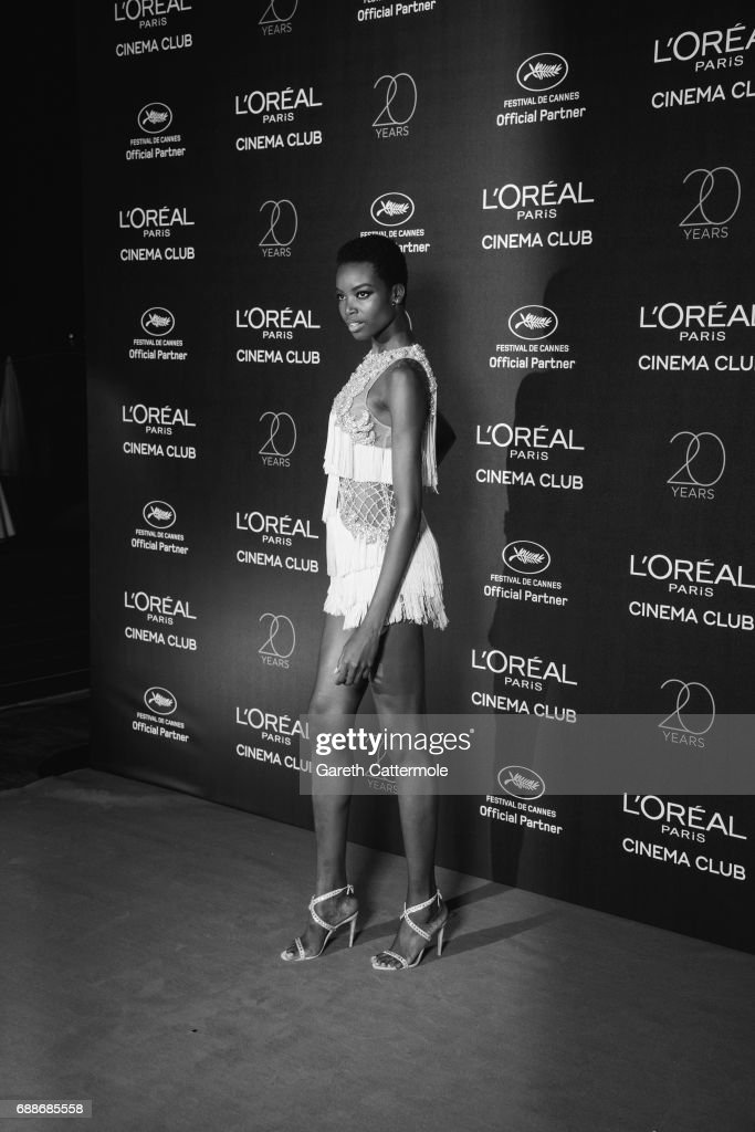 Maria Borges attends L'Oreal Paris Cinema Club party during the 70th Cannes Film Festival at Martinez Hotel on May 24, 2017 in Cannes, France.
