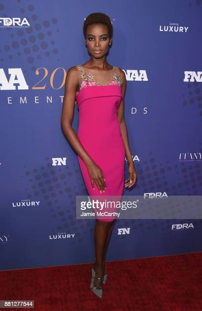 Maria Borges attends the 31st FN Achievement Awards at IAC Headquarters on November 28 2017 in New York City