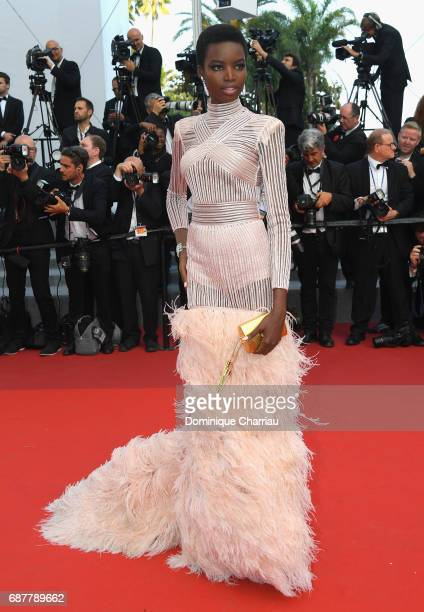 Maria Borges attends the 'The Beguiled' screening during the 70th annual Cannes Film Festival at Palais des Festivals on May 24 2017 in Cannes France