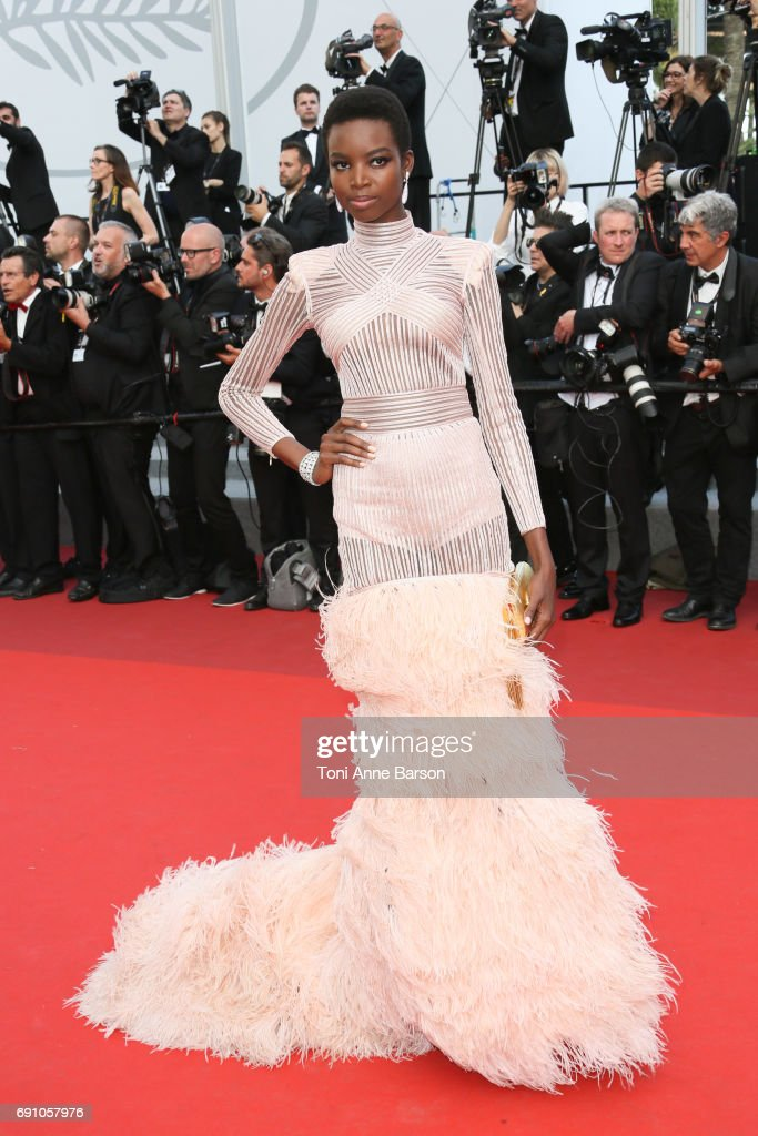 Maria Borges attends the 'The Beguiled' screening during the 70th annual Cannes Film Festival at Palais des Festivals on May 24, 2017 in Cannes, France.