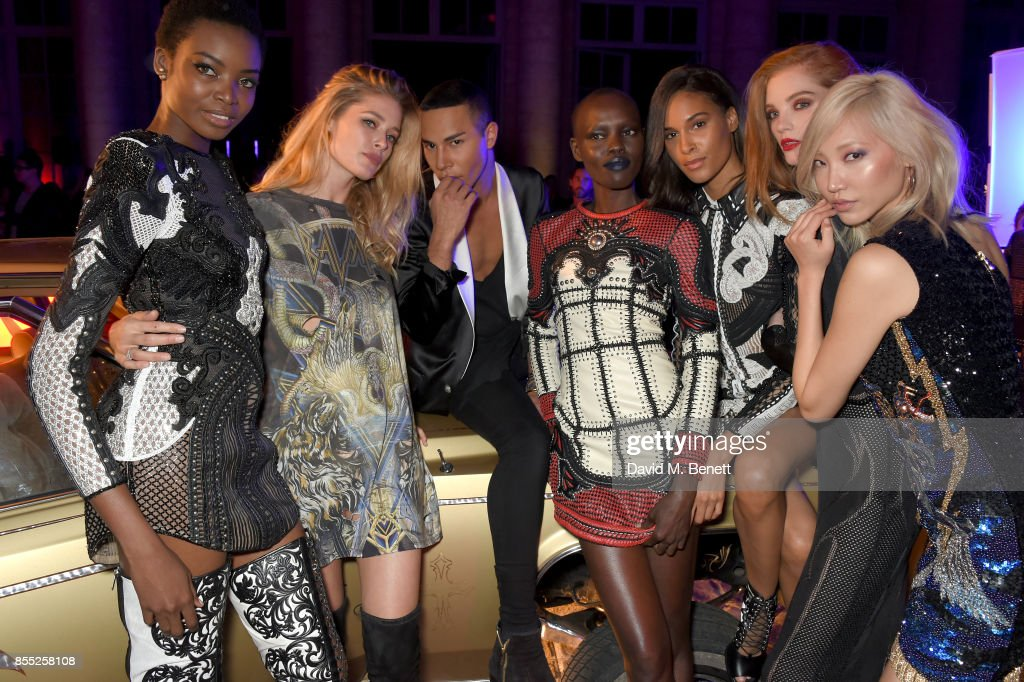 L'Oreal Paris X Balmain Paris Celebrate The Launch Of Their Lipstick Collection