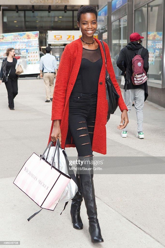 Celebrity Sightings In New York City - November 06, 2015