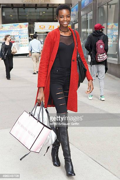 Maria Borges seen while leaving the Victoria's Secret headquarters on November 06 2015 in New York City