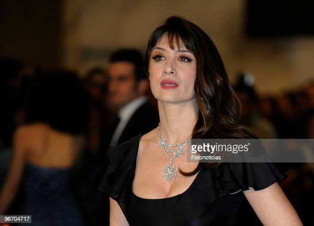 Maria Botto arrives to the 2010 edition of the 'Goya Cinema Awards' ceremony at the Palacio de Congresos on February 14 2010 in Madrid Spain
