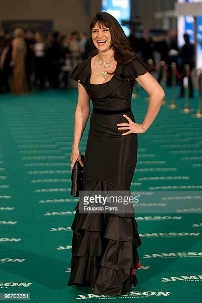 Maria Botto attends Goya prizes photocall at Madrid City Hall on February 14 2010 in Madrid Spain