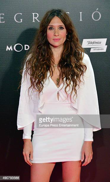 Maria Botto attends 'Regression' premiere on September 30 2015 in Madrid Spain