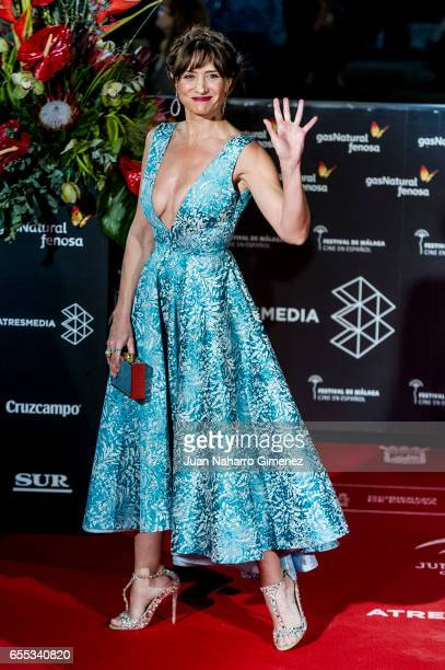 Maria Botto attends the 'Amar' premiere during the 20th Malaga Film Festival 2017 Day 3 at the Cervantes Theater on March 19 2017 in Malaga Spain