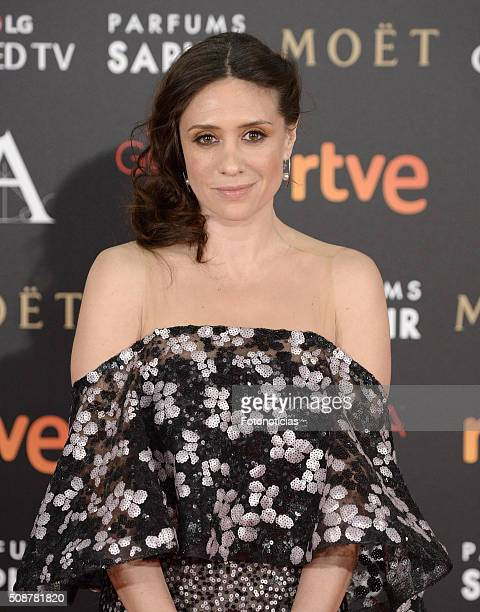 Maria Botto attends the Goya Cinema Awards 2016 Ceremony at Madrid Marriott Auditorium on February 6 2016 in Madrid Spain
