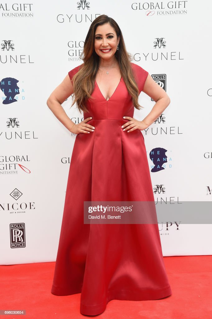 Maria Bravo attends the Global Gift Gala for The Diana Award, hosted by Earl Spencer at Althorp House on June 14, 2017 in Northampton, England.