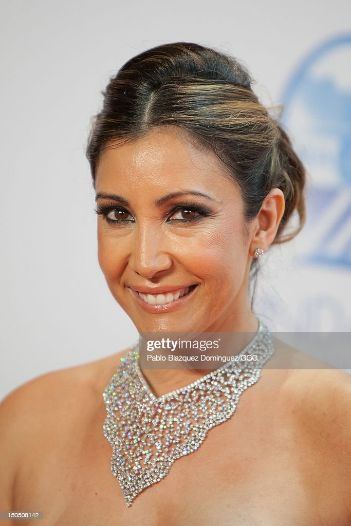 Maria Bravo attends the Global Gift Gala held to raise benefits for Cesare Scariolo Foundation and Eva Longoria Foundation on August 19, 2012 in Marbella, Spain.