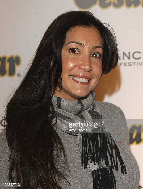 Maria Bravo of 'The Philanthropist' during 2006 Sundance Film Festival Cesar Spa For Small Dogs Day 2 at 577 Main Street in Park City Utah United...