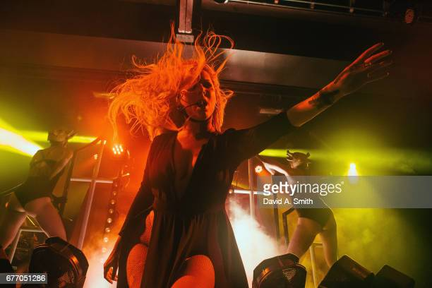 Maria Brink of In This Moment performs at Iron City on May 2 2017 in Birmingham Alabama