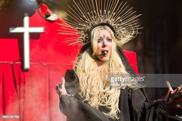 Maria Brink of In This Moment performs at Monster Energy Aftershock Festival 2017 at Discovery Park on October 22 2017 in Sacramento California