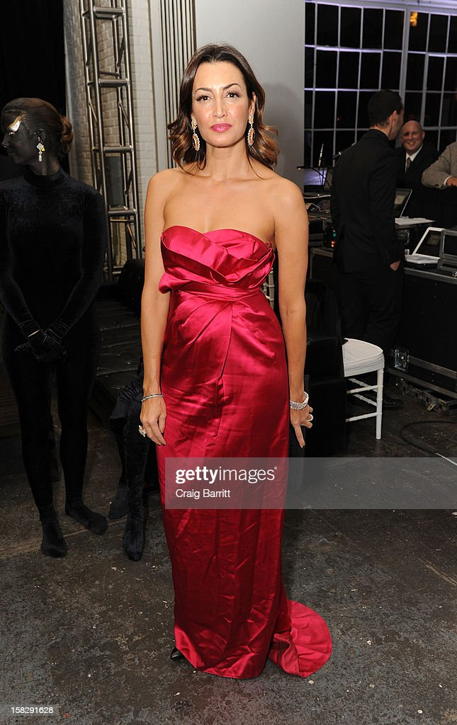Maria Buccellati attends the TPC for the 2012 La Fondazione La Notte Gala Celebrating 60 years Of Excellence In the USA For Buccellati at Industria Studios on December 12, 2012 in New York City.