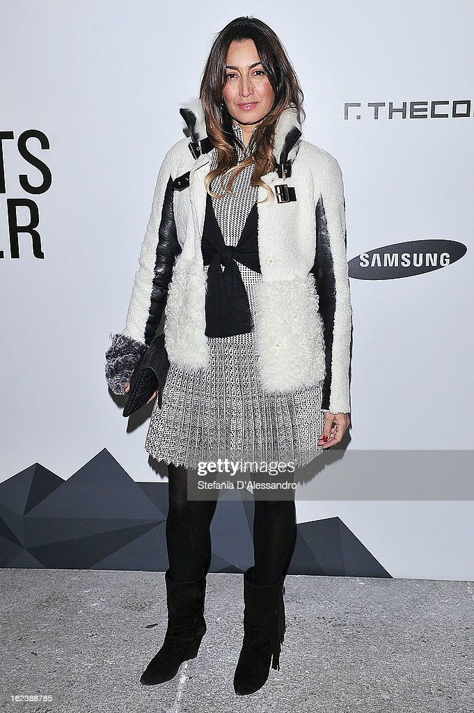 Maria Buccellati attends The Vogue Talent's Corner held at Palazzo Morando during Milan Fashion Week Womenswear Fall/Winter 2013/14 on February 22, 2013 in Milan, Italy.