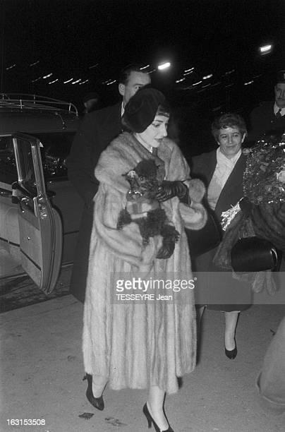 Maria Callas At Orly