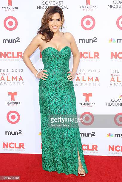 Maria CanalsBarrera arrives at the 2013 NCLR ALMA Awards held at Pasadena Civic Auditorium on September 27 2013 in Pasadena California
