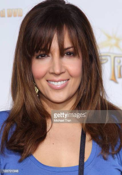 Maria CanalsBarrera arrives to the special screening of 'Tinker Bell And The Great Fairy Rescue' held at La Cienega Park on August 28 2010 in Beverly...