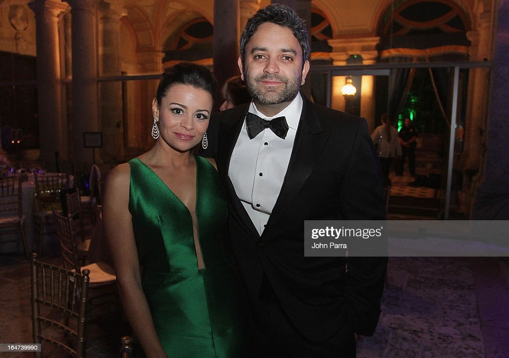 Maria Carolina and Paulo Tavares de Melo attend the II BrazilFoundation Gala Miami at Vizcaya Museum & Gardens on March 26, 2013 in Miami, Florida.