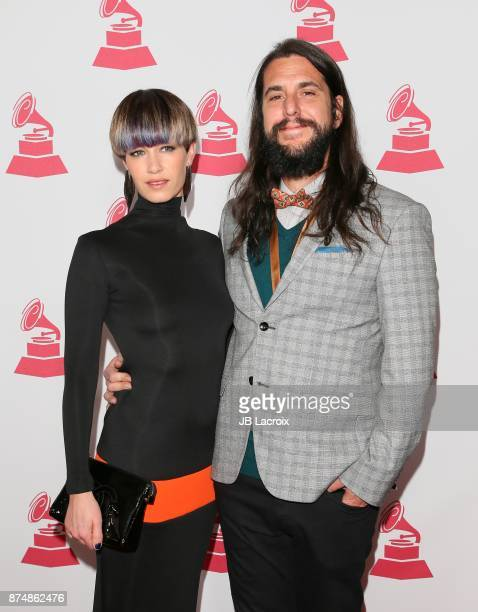 Maria Carrasco and Daniel Etura attends the Latin Recording Academy's 2017 Person Of The Year Gala on November 15 2017 in Las Vegas California