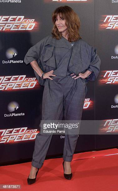 Maria Casal attends 'Need for speed' premiere photocall at Callao cinema on April 1 2014 in Madrid Spain
