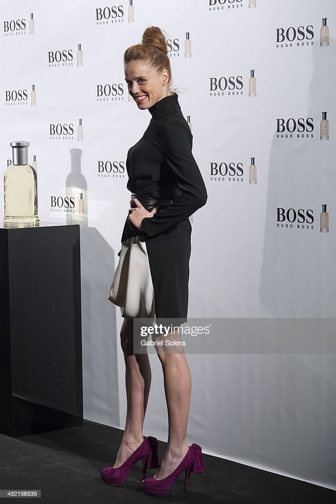 <a gi-track='captionPersonalityLinkClicked' href=/galleries/search?phrase=Maria+Castro&family=editorial&specificpeople=3626635 ng-click='$event.stopPropagation()'>Maria Castro</a> attends 'Boss Bottled' 15th Anniversary at the Eurostars Hotel on November 26, 2013 in Madrid, Spain.