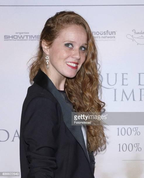 Maria Castro attends the 'Lo Que De Verdad Importa' premiere at the Hotel Vincci Capitol on February 15 2017 in Madrid Spain