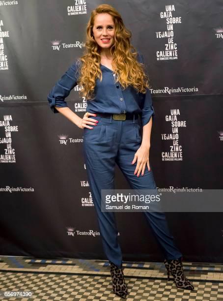 Maria Castro attends 'Una Gata Sobre Un Tejado de Zinc Caliente' Madrid Premiere on March 23 2017 in Madrid Spain