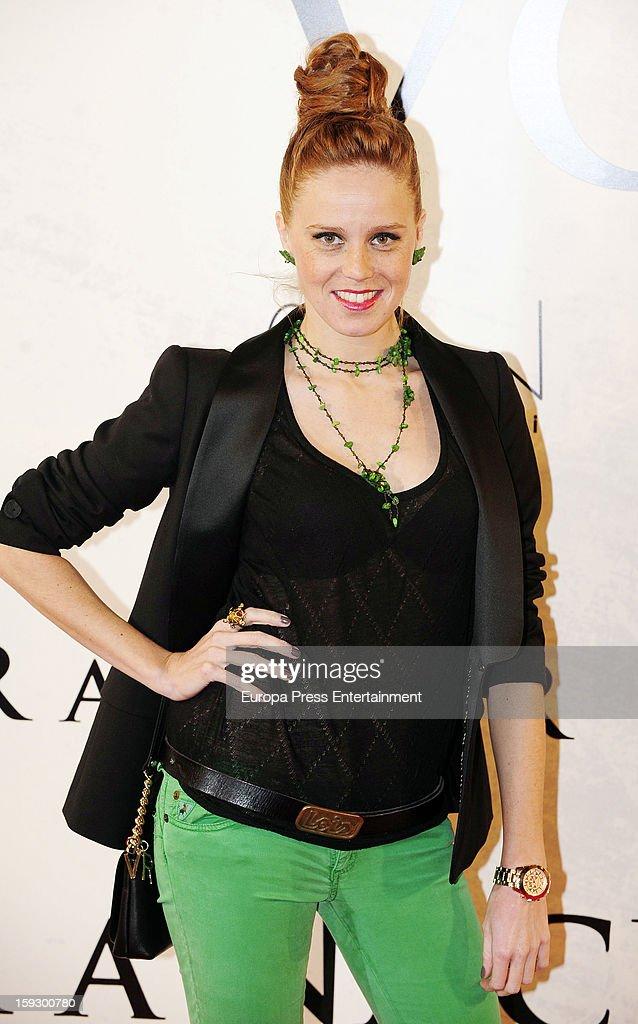 Maria Castro attends 'Venuto Al Mondo' premierte at Capitol Cinema on January 10, 2013 in Madrid, Spain.
