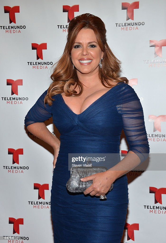 Maria Celeste Arraras attends the 2013 Telemundo Upfront at Frederick P. Rose Hall, Jazz at Lincoln Center on May 14, 2013 in New York City.
