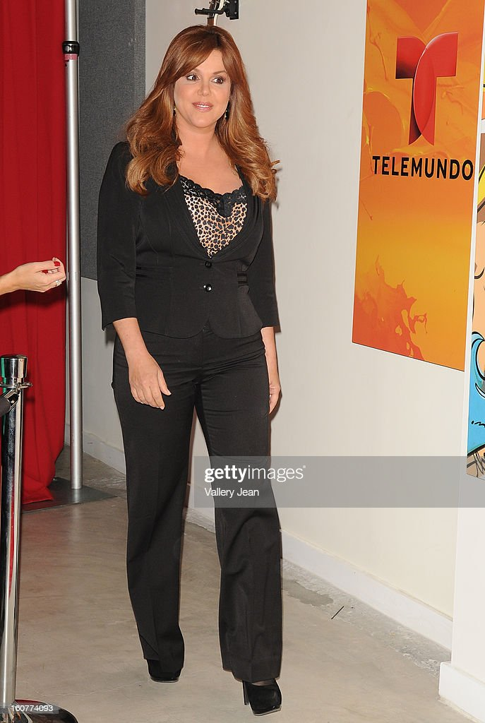 Maria Celeste attends Telemundo and Premios Billboard 2013 Press Conference at Gibson Miami Showroom on February 5, 2013 in Miami, Florida.