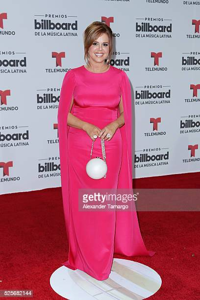 Maria Celeste attends the Billboard Latin Music Awards at Bank United Center on April 28 2016 in Miami Florida