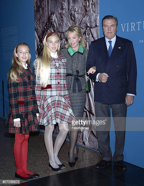 Maria Clara Duchess of Capri Maria Carolina Duchess of Palermo and Calabria Princess Camilla of BourbonTwo Sicilies Duchess of Castro and Prince...
