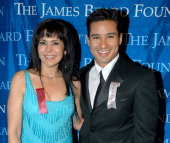Maria Conchita Alonso and Mario Lopez during 2004 James Beard Foundation Awards at Marriott Marquis in New York City New York United States