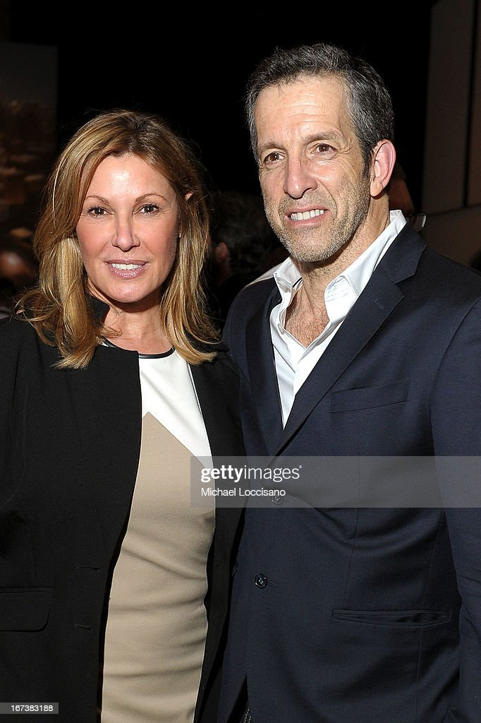 Maria Cuomo Cole (L) and designer Kenneth Cole attends HBO's 'The Battle of amFAR' premiere at Tribeca Film Festival on April 24, 2013 in New York City.