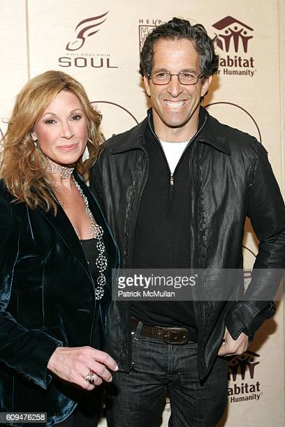 Maria Cuomo Cole and Kenneth Cole attend Jon Bon Jovi and Kenneth Cole Team Up For An Unforgettable Night of Fundraising At 'RSVP To Help' at Tribeca...