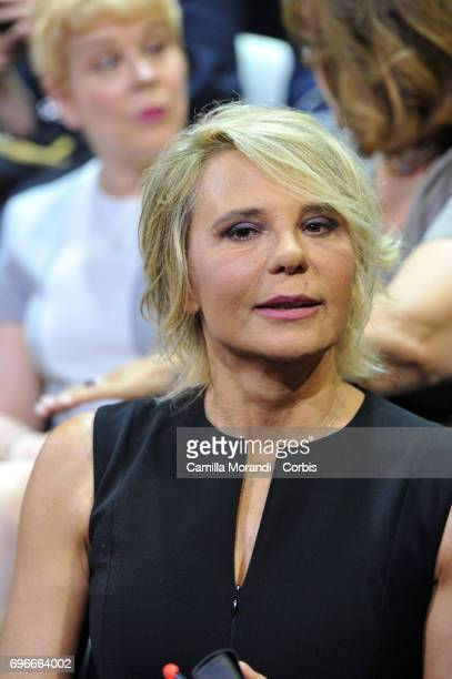 Maria De Filippi attends the Bellisario Awards In Rome on June 16 2017 in Rome Italy