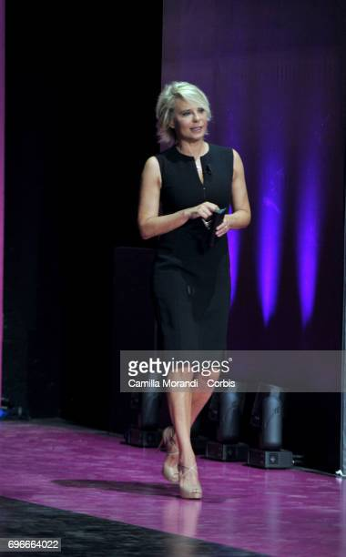 Maria De Filippi recieves the Bellisario Awards In Rome on June 16 2017 in Rome Italy