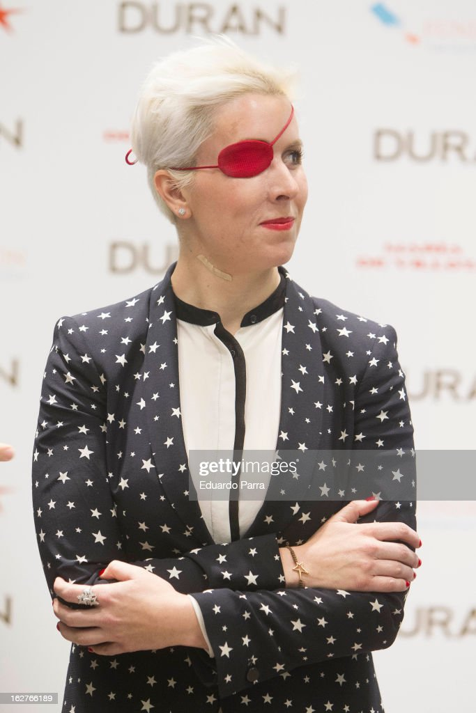 <a gi-track='captionPersonalityLinkClicked' href=/galleries/search?phrase=Maria+de+Villota&family=editorial&specificpeople=8544103 ng-click='$event.stopPropagation()'>Maria de Villota</a> attends a presentation at Duran Jewelry Sotre on February 26, 2013 in Madrid, Spain.