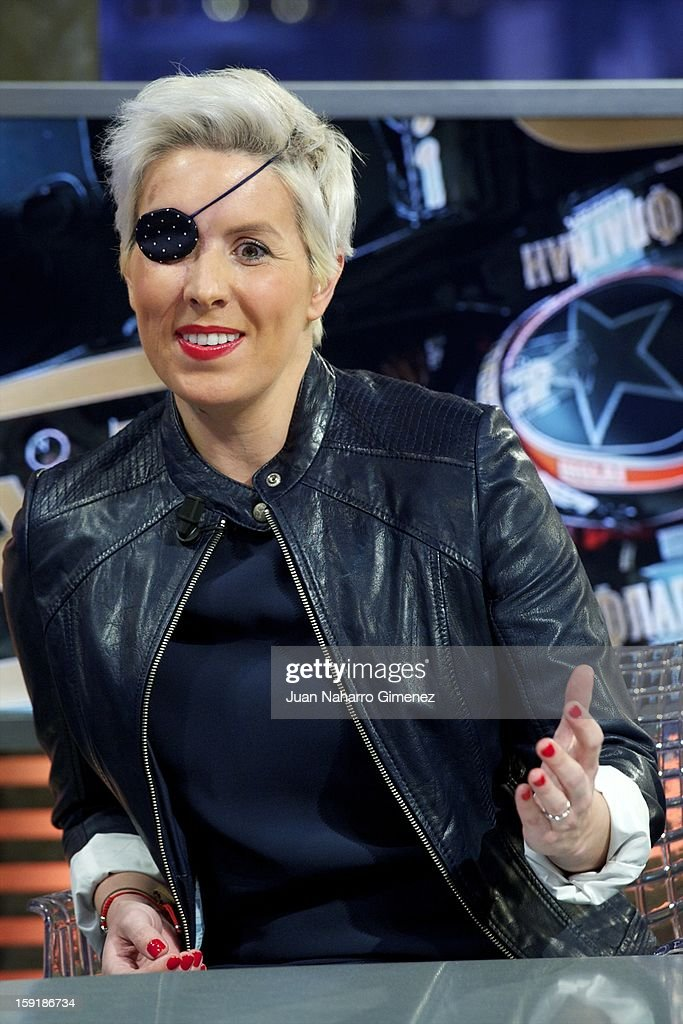 Maria de Villota attends 'El Hormiguero' Tv show at Vertice Studio on January 9, 2013 in Madrid, Spain.