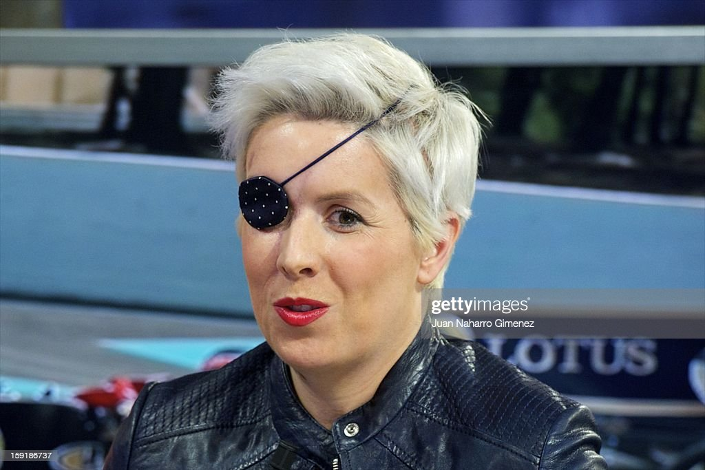 <a gi-track='captionPersonalityLinkClicked' href=/galleries/search?phrase=Maria+de+Villota&family=editorial&specificpeople=8544103 ng-click='$event.stopPropagation()'>Maria de Villota</a> attends 'El Hormiguero' Tv show at Vertice Studio on January 9, 2013 in Madrid, Spain.