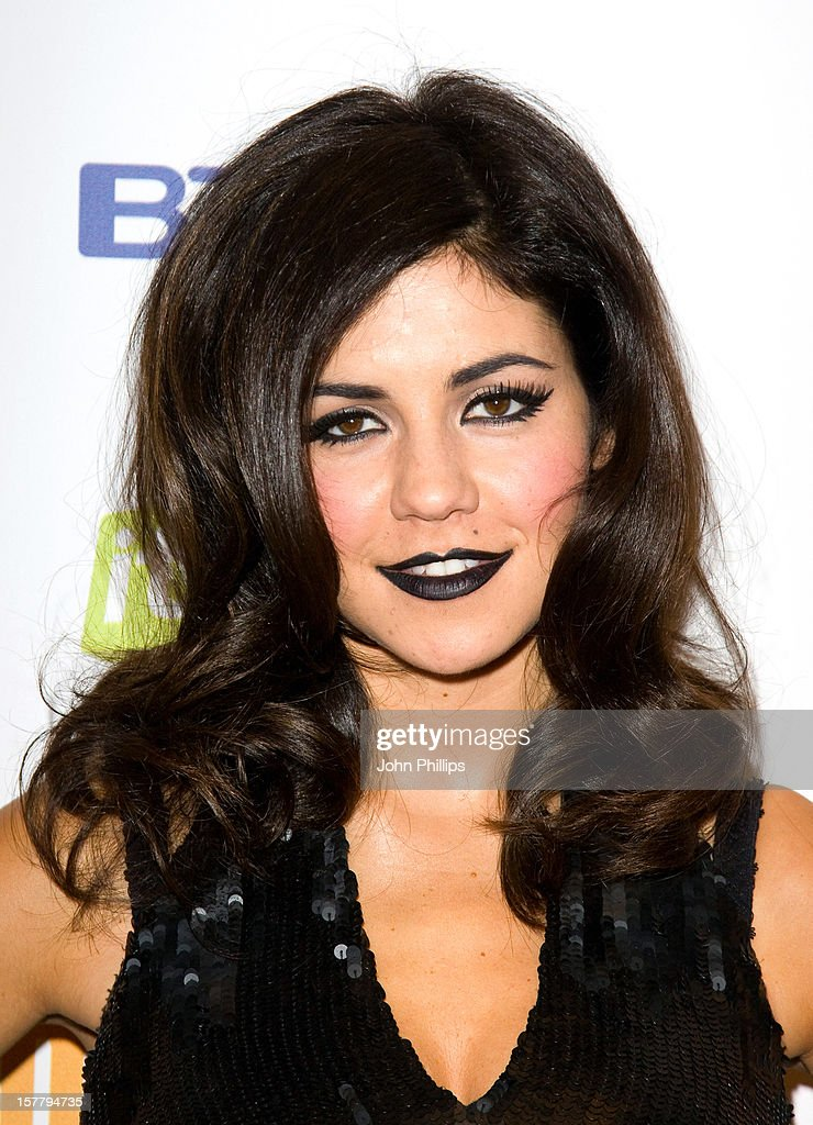 Maria Diamandis At The Bt Digital Music Awards 2010 At The Roundhouse In London.