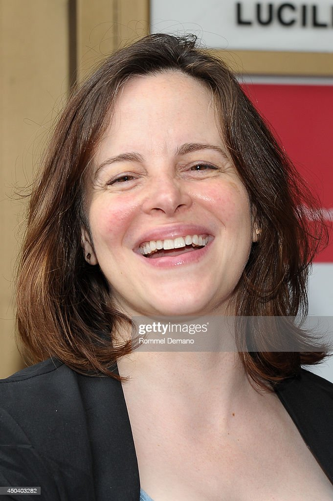<a gi-track='captionPersonalityLinkClicked' href=/galleries/search?phrase=Maria+Dizzia&family=editorial&specificpeople=5776359 ng-click='$event.stopPropagation()'>Maria Dizzia</a> attends the 'The Village Bike' Opening Night Arrivals at Lucille Lortel Theatre on June 10, 2014 in New York City.